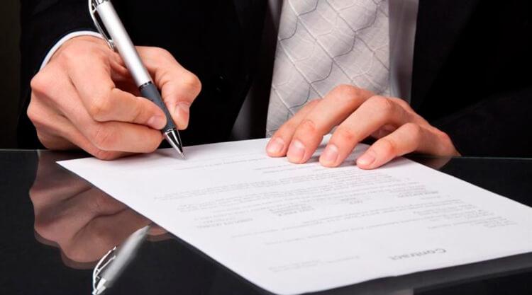 Помощь юристов при заключении договора
